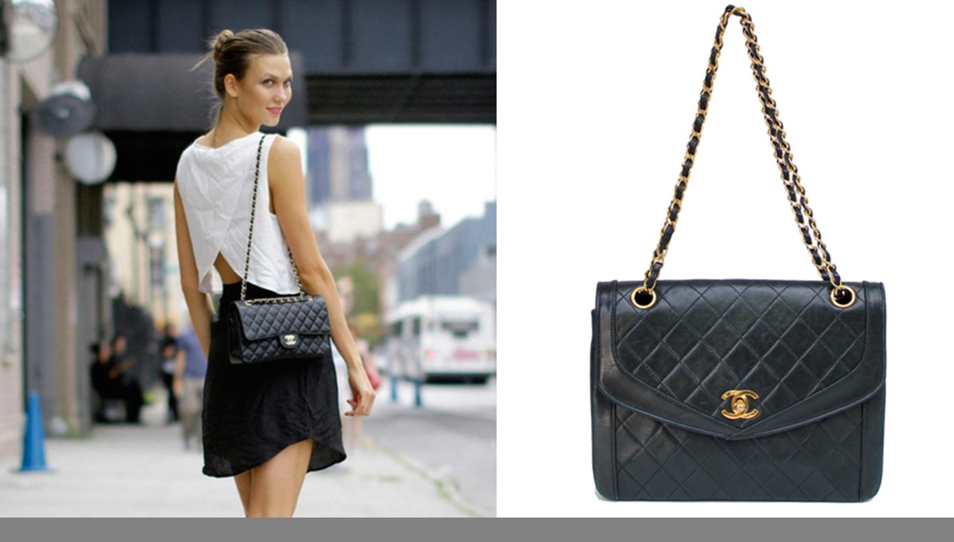 história da bolsa Chanel 2.55
