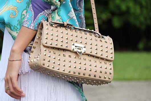 bolsa com tachas