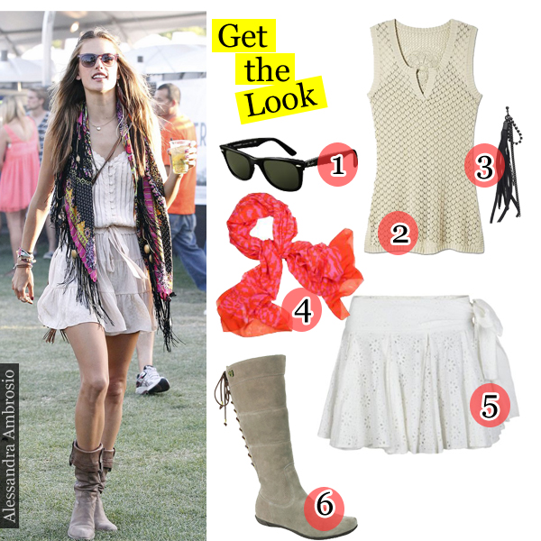 Get The Look Alessandra Ambrosio