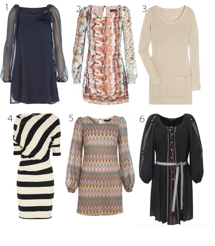 vestido para usar no inverno