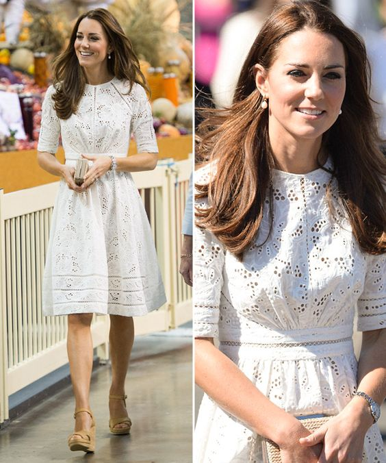 Kate Middleton vestido laise