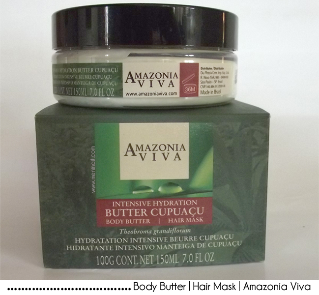 Body_Butter and hair mask - amazonia viva