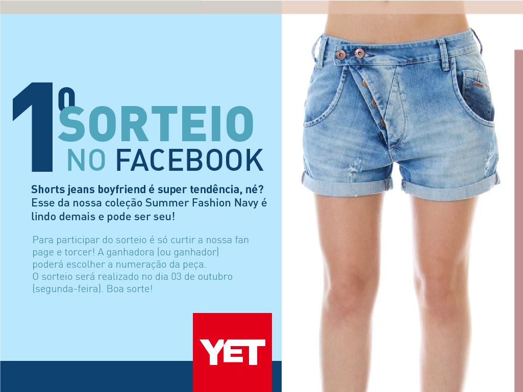 Divulgação do Sorteio no Facebook