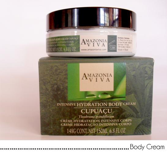 body cream amazonia viva