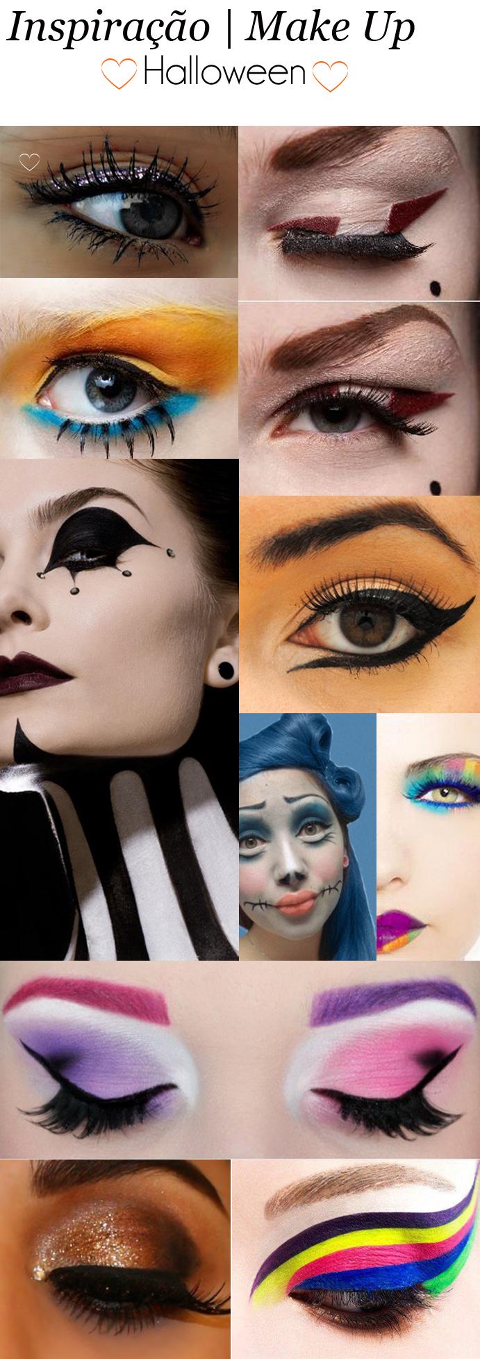 inspiração de maquiagem para o halloween