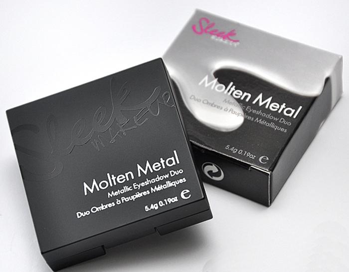 Sleek MakeUP Molten Metal Steel
