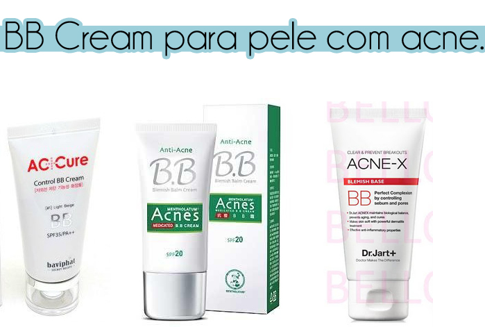 bb cream para pele com acne