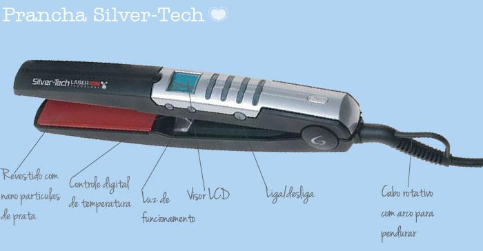 prancha silver-tech gama italy