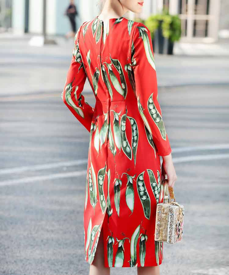 vestdo-vermelho-estampado-