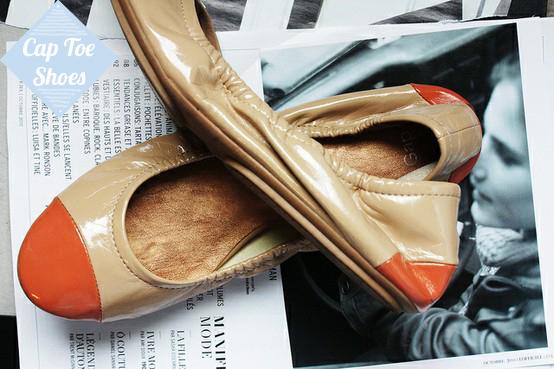 cap toe shoes, sapato criado por Coco Chanel