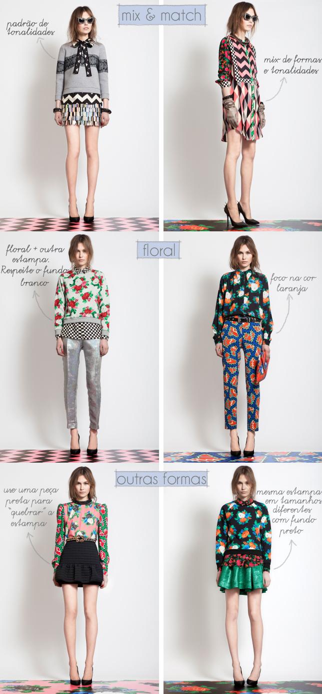 como-misturar-estampa-floral-mix-e-match-geométricas-abstratas-coloridas