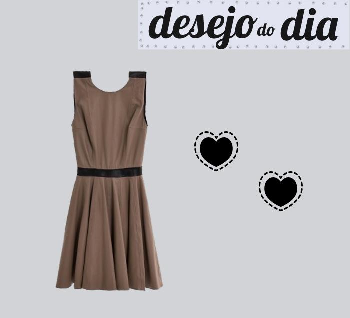 desejo do dia vestido de couro débora mangabeira