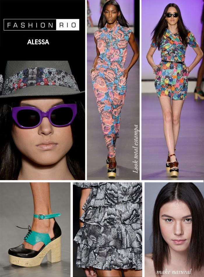 desfile Fashion Rio verão 2013 Alessa