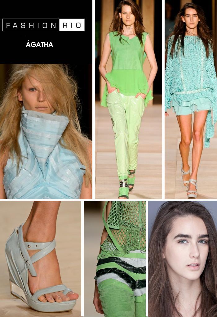 fashion rio verão 2013 desfile ágatha