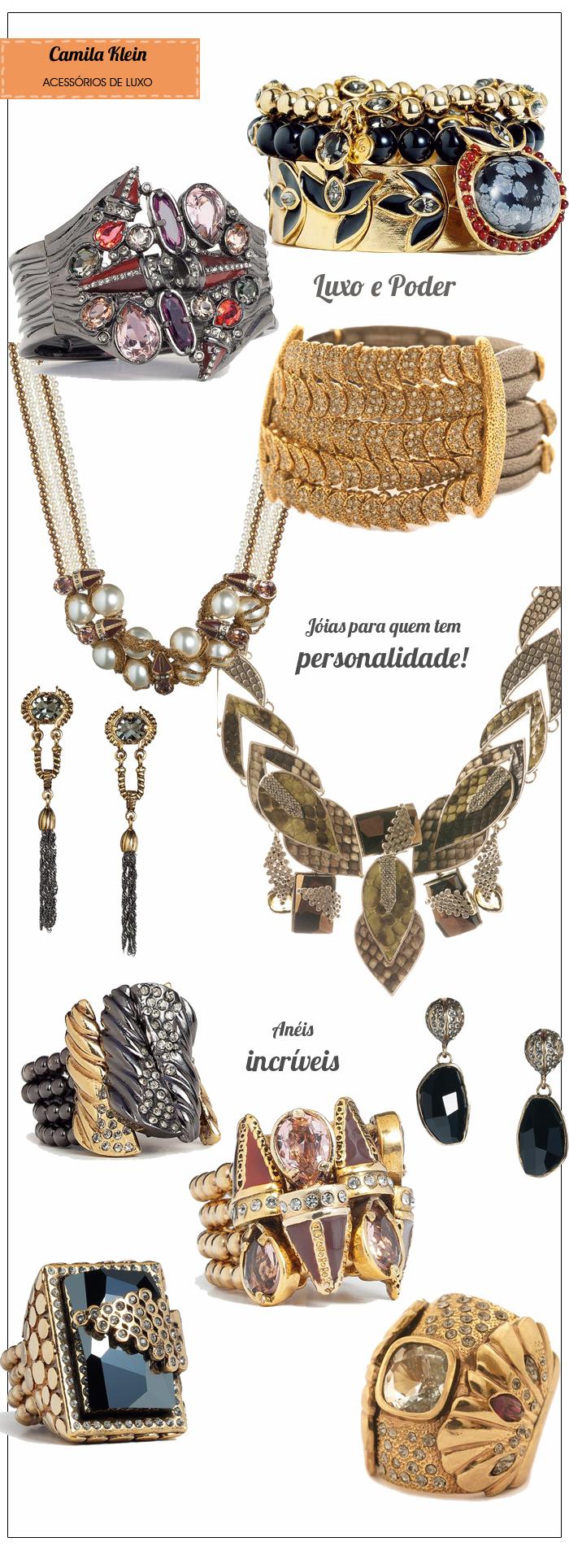 Acessórios de Luxo Camila Klein