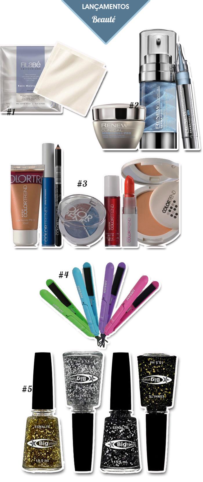 lançamentos de produtos de beleza | GA.MA Italy | Esmalte Big Universo | Maquiagens Avon Color Trend | Avon Renew | Blog MeninaIT