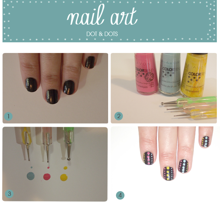 nail art dot & dots