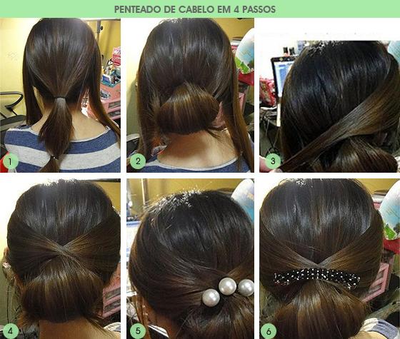 penteado fácil de cabelo em 4 passos blog MeninaIT