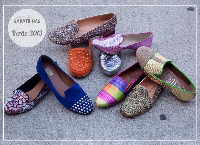 tendências em sapatilhas para o verão 2013