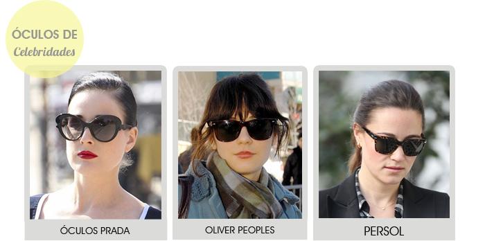 óculos de sol de celebridades