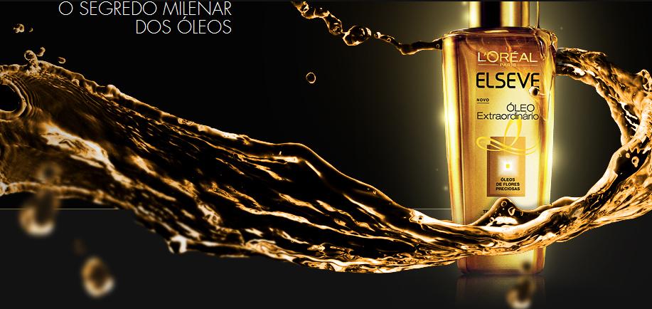 óleo extraordinário de elseve