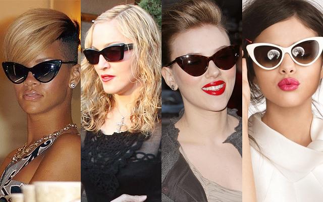 celebridades oculos gatinho