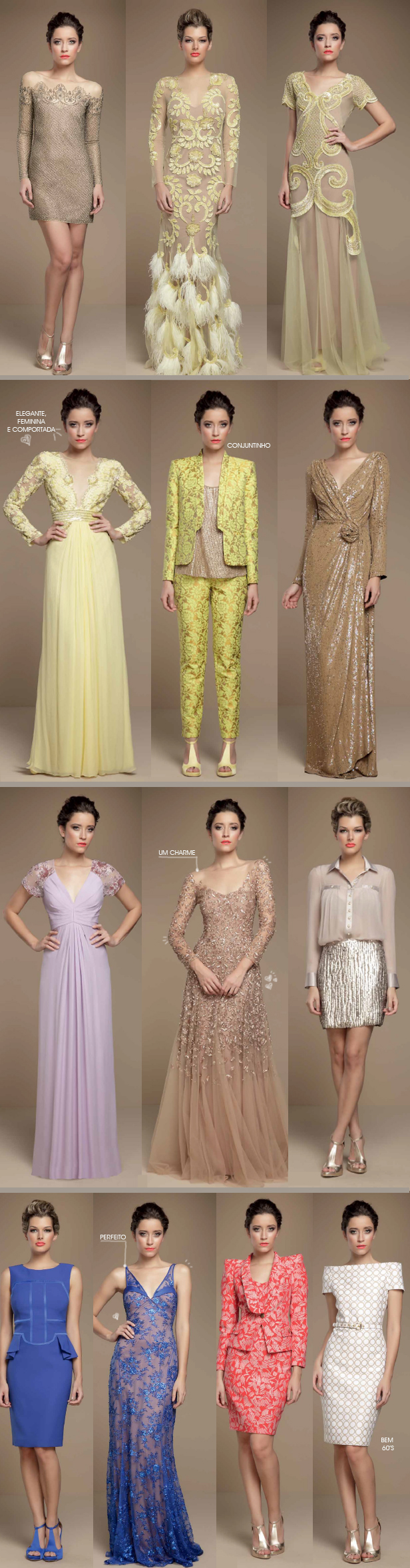 coleção mabel magalhães verão 2012 com vestidos de festas e conjuntinhos estampados