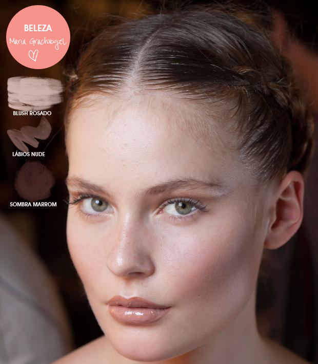 Beauty London Fashion Week Maria Grachvogel MeninaIT