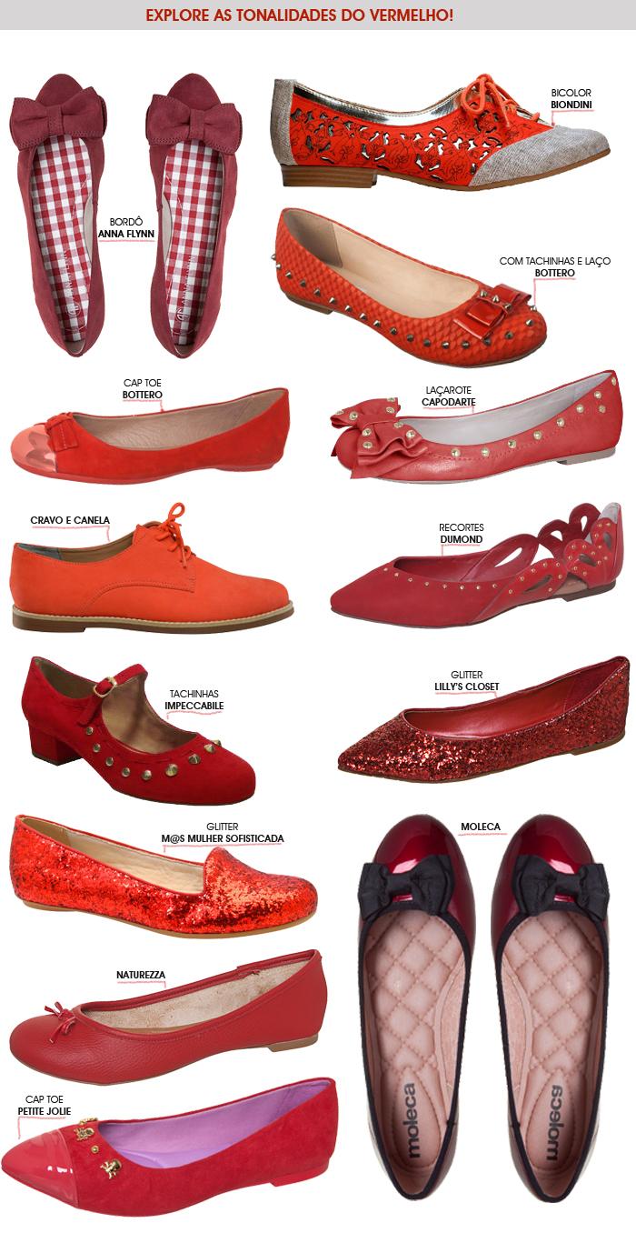 sapatos vermelho verão 2013 blog MeninaIT