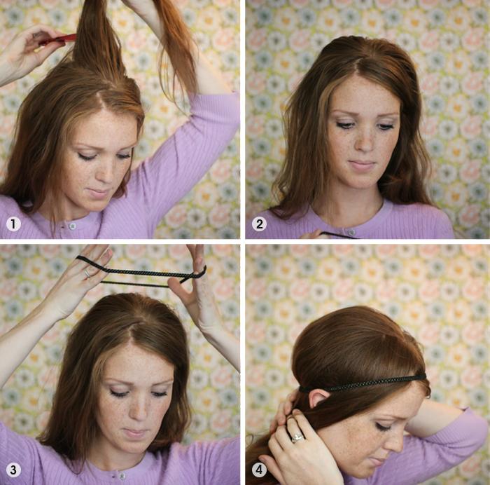 Headband-tuck