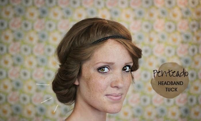 How To penteado de cabelo Headband tuck MeninaIT