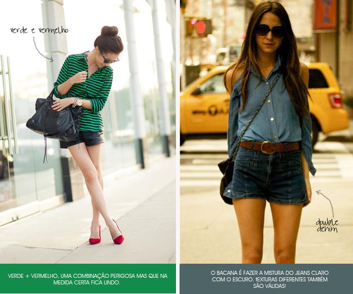 How To quebrando mitos da moda vermelho e verde e jeans com jeans Blog MeninaIT