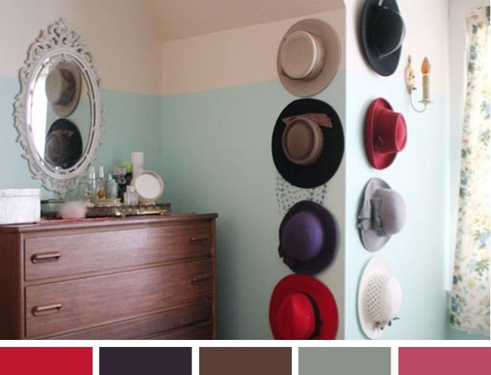 Inspiração da semana Como organizar chapéus Blog MeninaIT
