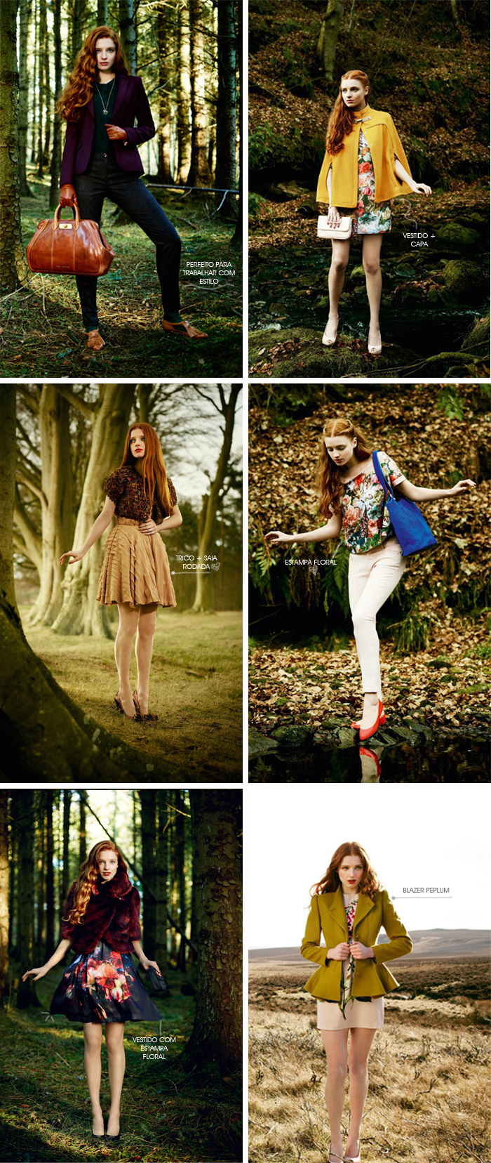 Lookbook Ted Baker Moda MeninaIT