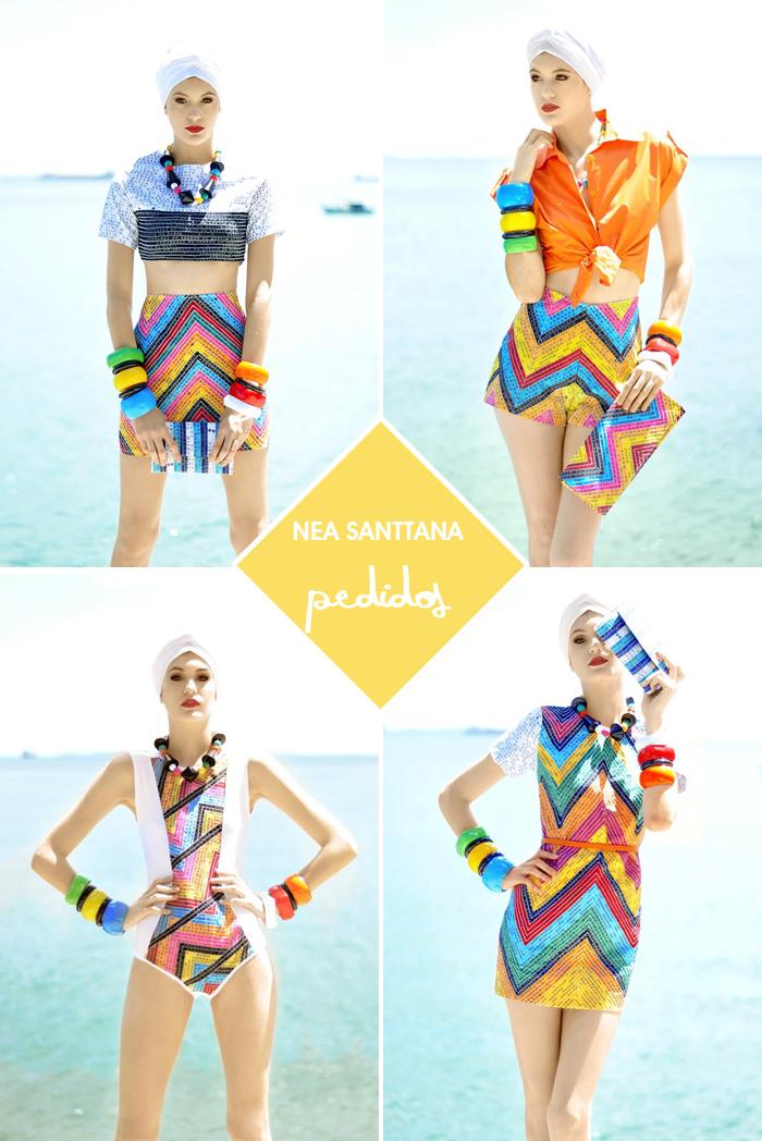 coleção Pedidos por Nea Santtana Moda Blog MeninaIT