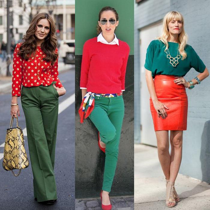 como-usar-look-verde-e-vermelho