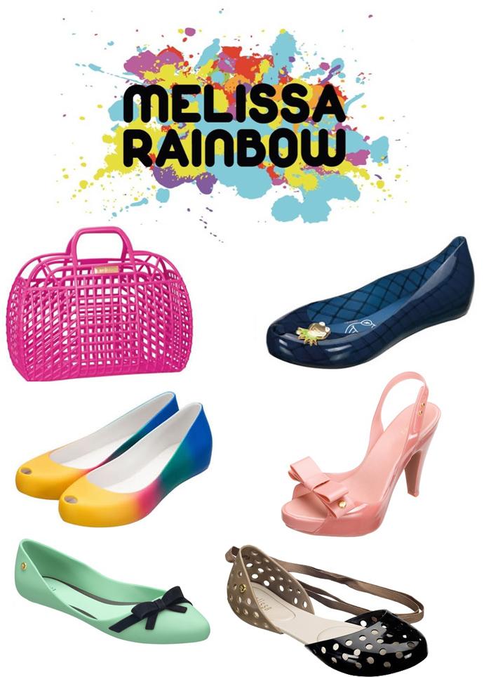 coleção Melissa Rainbow 2012