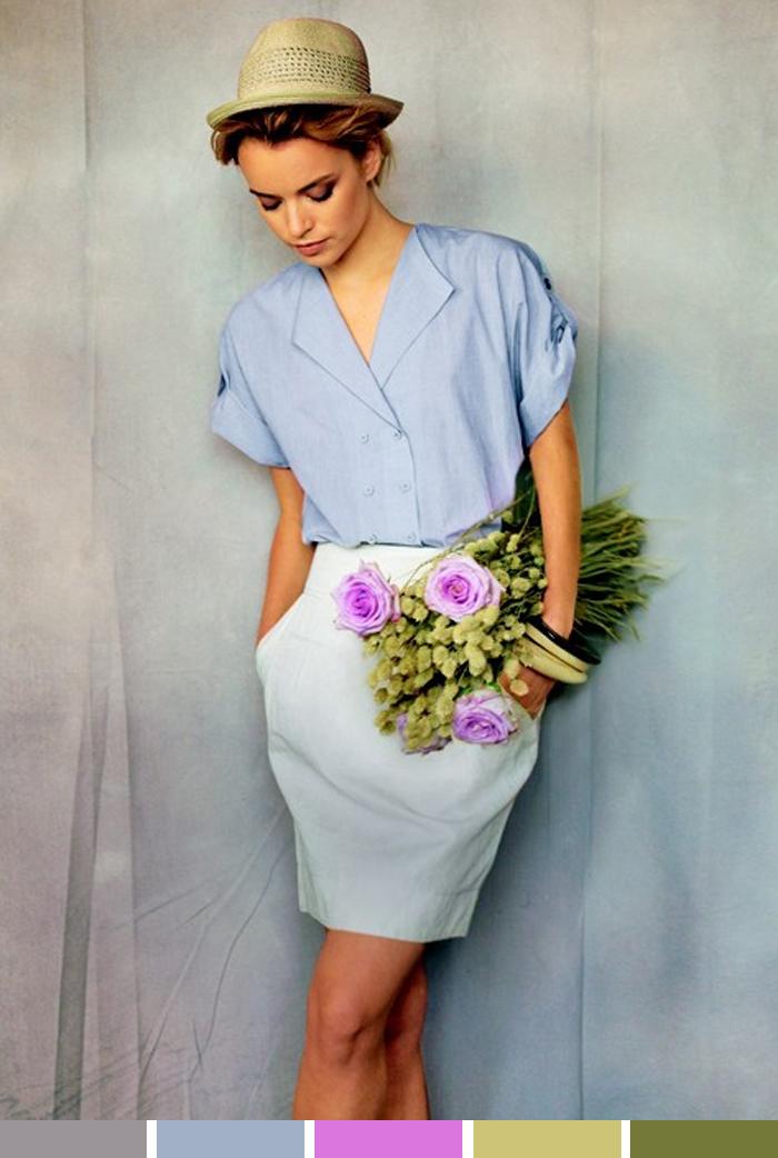 inspiração da semana Roupa leve e flores para o dia Blog MeninaIT