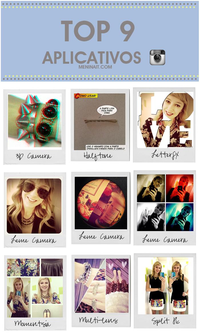 Melhores aplicativos de fotos para iPhone Blog MeninaIT