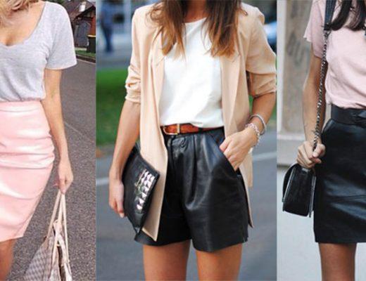 como-usar-roupa-de-couro-no-verão