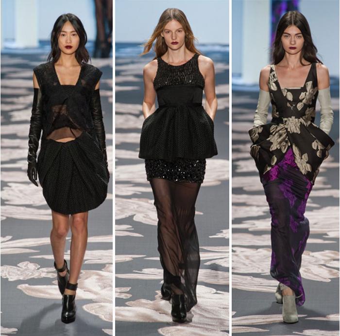 Desfile Vera Wang New York Fashion Week Fashion Blog MeninaIT