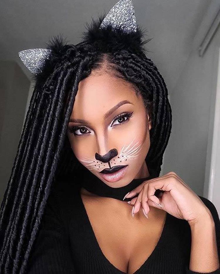 Maquiagem-para-Carnaval-para-Negras-gatinha