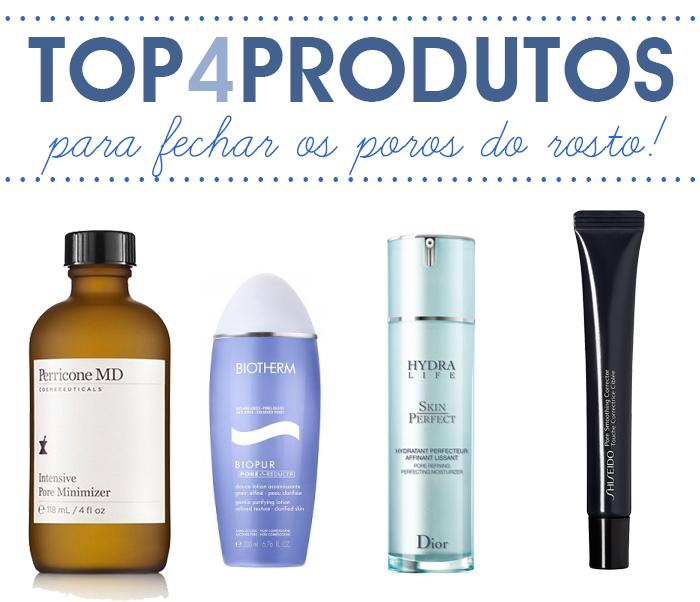 Produtos para fechar os poros do rosto Beauty blog MeninaIT