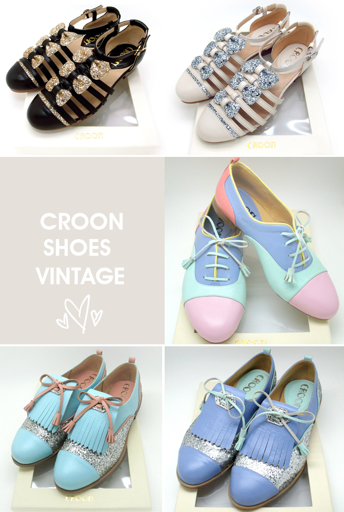 Shoes Croon style vintage fashion blog MeninaIT