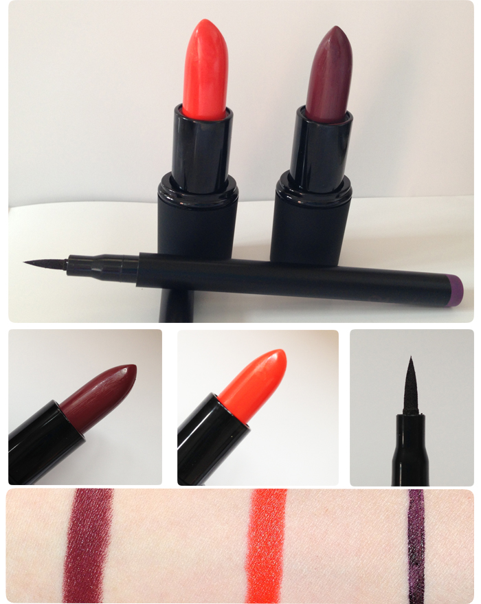 Sleek Makeup Batom e delineador Blog MeninaIT
