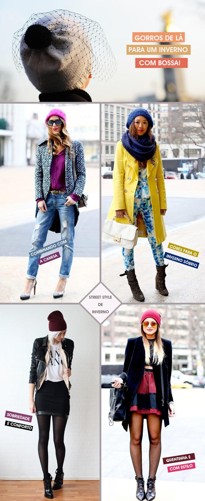 Trend alert gorros de lã para o inverno 2013 2014 Fashion Blog
