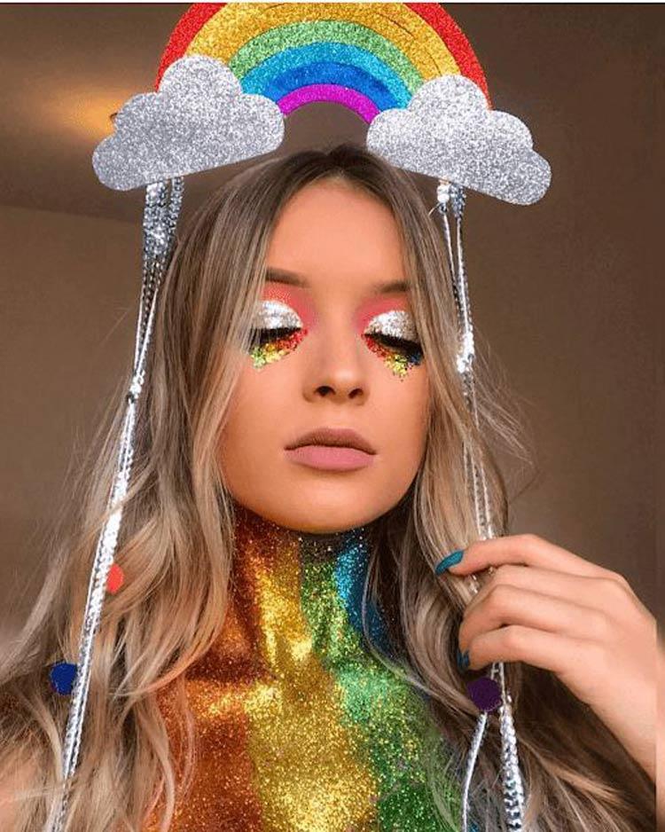 maquiagem-carnaval-arco-iris