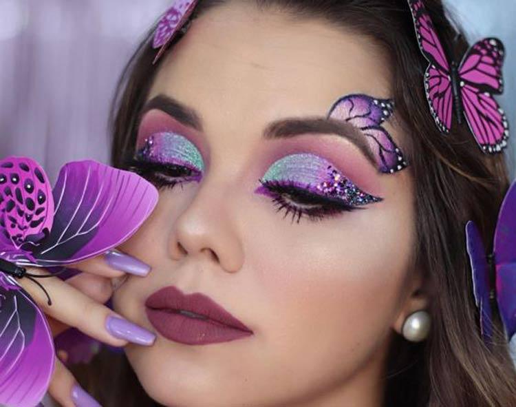 maquiagem-carnaval-borboleta