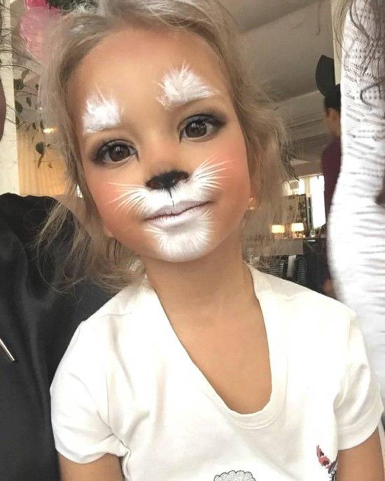 maquiagem-carnaval-crianças-faceis