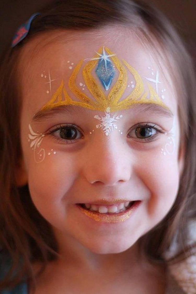 maquiagem-carnaval-crianças-princesa